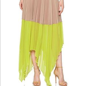BCBGMAXAZRIA Pleated skirt